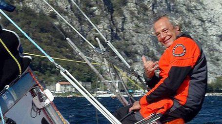 Dario Noseda sulla barca