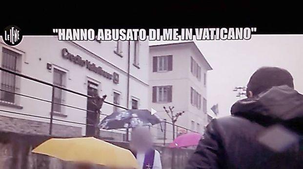 Un frame del servizio delle Iene su Italia Uno