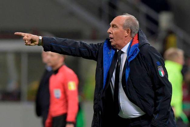 Il ct azzurro Gian Piero Ventura (Afp)