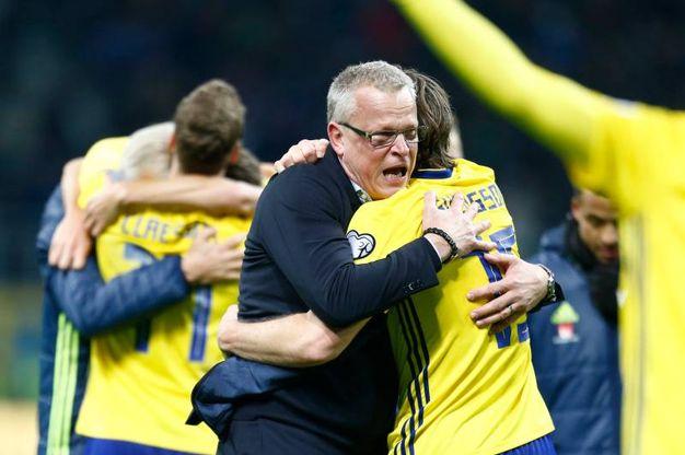 La gioia degli svedesi (Lapresse)