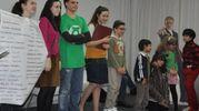 Il gruppo ispirato a The Big Bang Theory (Foto Concolino)