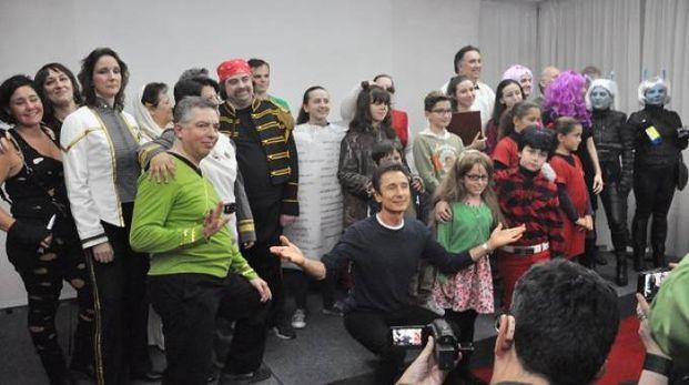 Reunion di fantascienza, al centro l'attore Dominic Keating (Foto Concolino)