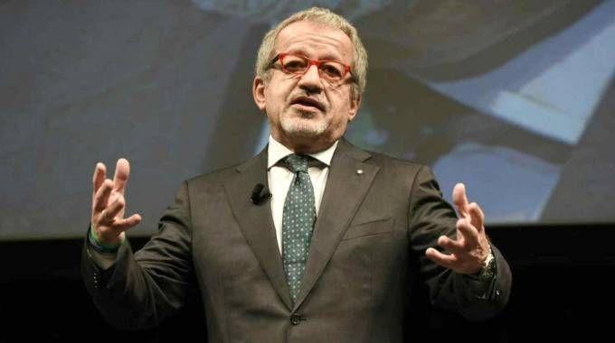 GOVERNATORE Il presidente della Regione Lombardia, Roberto Maroni, guiderà la delegazione