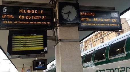 Treni in ritardo e soppressi