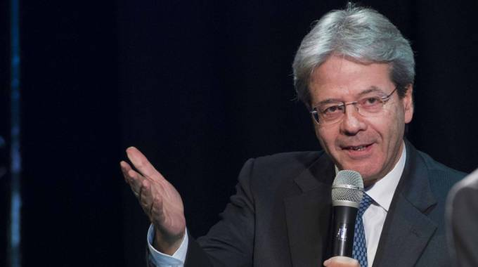 Il premier Paolo Gentiloni (foto Lapresse)