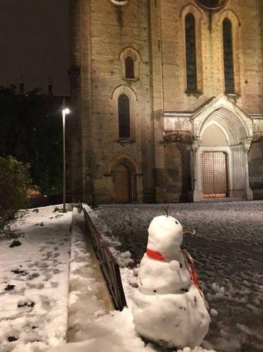 La neve non porta solo disagi (foto di Michela Cardinale)