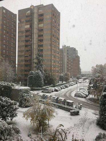 Il fascino della neve secondo Michele Faccioli