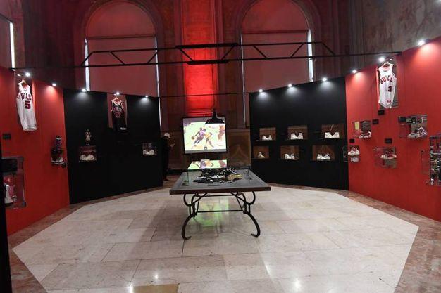 Panoramica dell'esposizione in Sala del Podestà (fotoSchicchi)
