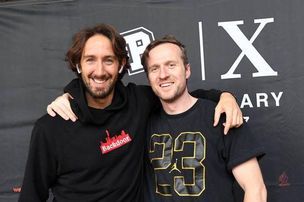 Marco Evangelisti e Gerard Starkey (fotoSchicchi)