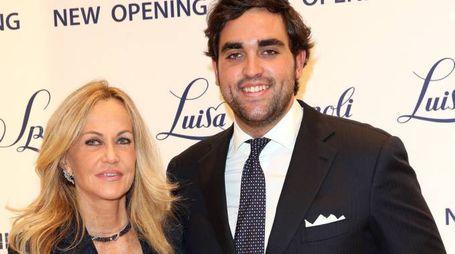 Nicoletta Spagnoli e il figlio Nicola Barbarani