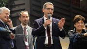 Merola durante la presentazione (foto Schicchi)