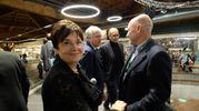 Tiziana Primori con Andrea Riffeser Monti (foto Schicchi)