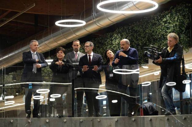 Alessandro Bonfiglioli, Tiziana Primori, Andrea Cornetti, Virginio Merola, Giuseppina Gualtieri, Oscar Farinetti e Red Ronnie