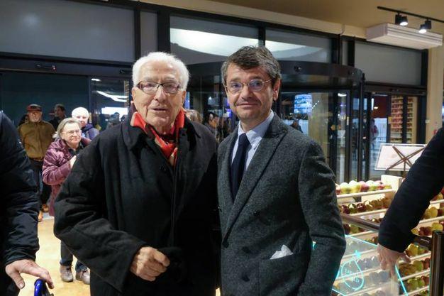 Marino Golinelli e Andrea Segrè (foto Schicchi)