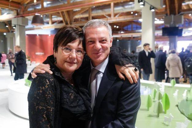 Tiziana Primori e Alessandro Bonfiglioli (foto Schicchi)