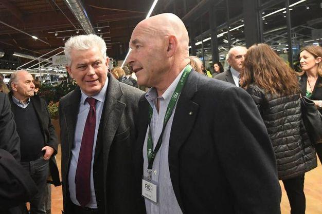 Giorgio Giatti e Andrea Riffeser Monti (foto Schicchi)