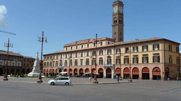 Il municipio di Forlì