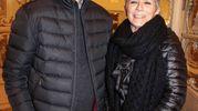 Paolo e Rossana Materassi (foto Giuseppe Cabras/New Pressphoto)