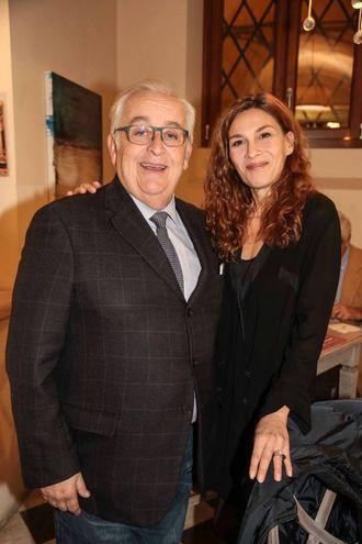 Guido Guidi e Federica Di Martino (foto Giuseppe Cabras/New Pressphoto)