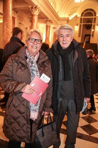 Maria Pia Beconi e Franco Morabito (foto Giuseppe Cabras/New Pressphoto)