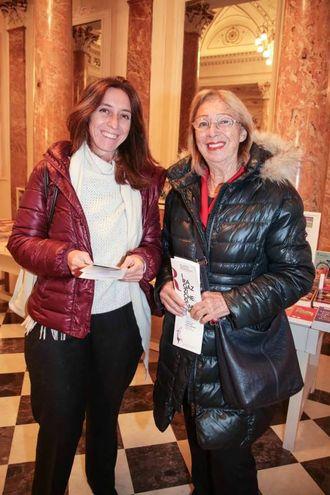 Simonetta Cocchi e Cecilia Rossi Romanelli (foto Giuseppe Cabras/New Pressphoto)
