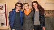 Giovanni Tognaccini, Martina Bessi e Bianca Ziliotto (foto Giuseppe Cabras/New Pressphoto)
