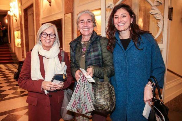 Cristina Raddi, Barbara Balli e Alessia Gafforio (foto Giuseppe Cabras/New Pressphoto)