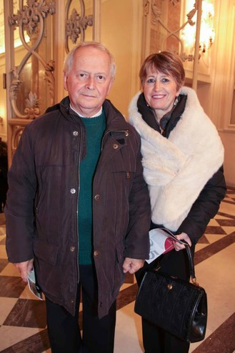 Walter Baldi e Susanna Cagnacci (foto Giuseppe Cabras/New Pressphoto)