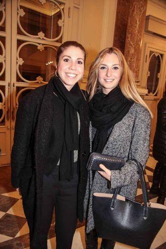 Irene Burato e Carlotta Manetti (foto Giuseppe Cabras/New Pressphoto)