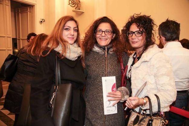 Chiara Serafini, Milena Magini e Sonia Gaggiano (foto Giuseppe Cabras/New Pressphoto)