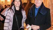 Saida e Giancarlo Meucci (foto Giuseppe Cabras/New Pressphoto)