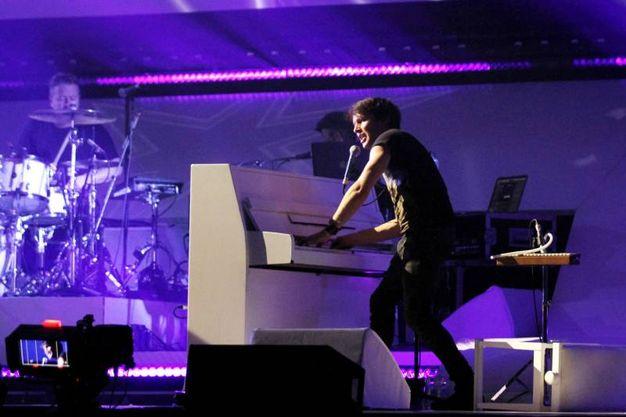 James Blunt in concerto al Mandela Forum di Firenze (foto Tania Bucci/New Pressphoto)
