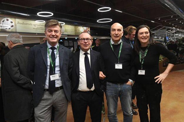 Stefano Fantoni, Nicola Natali, Luca Ceroni e Stefania Dal Rio (foto Schicchi)