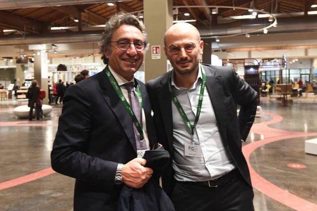 Valentino Di Pisa e Davide Conte (foto Schicchi)