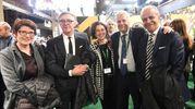 Tra gli altri, il ministro Gian Luca Galletti e il prefetto Matteo Piantedosi (foto Schicchi)