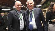 Andrea Riffeser Monti e Gian Luca Galletti (foto Schicchi)