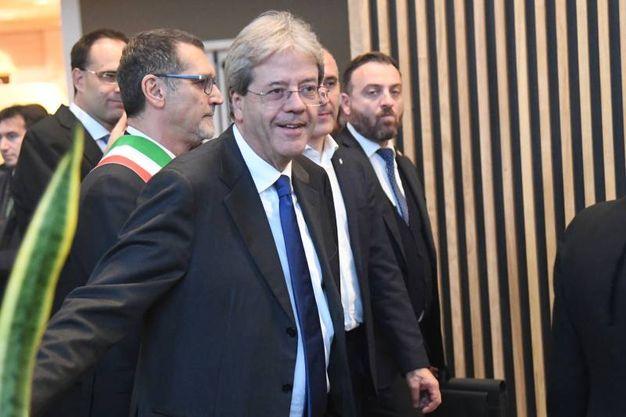 Il premier Paolo Gentiloni  (foto Schicchi)