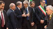 Prodi e Gentiloni (LaPresse)