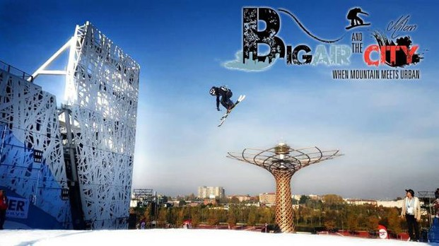 Big Air and the City Foto by BigAirMilan.com