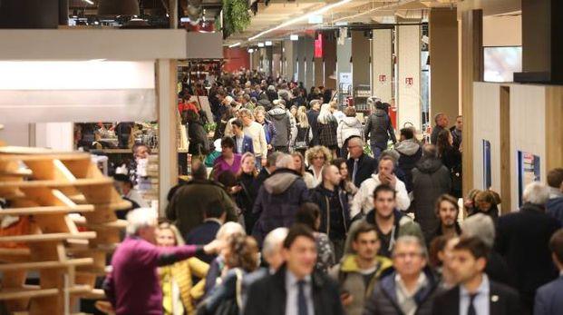 Tanti visitatori già il primo giorno di apertura (foto Schicchi)