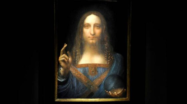 Il Salvator Mundi di Leonardo (Lapresse)