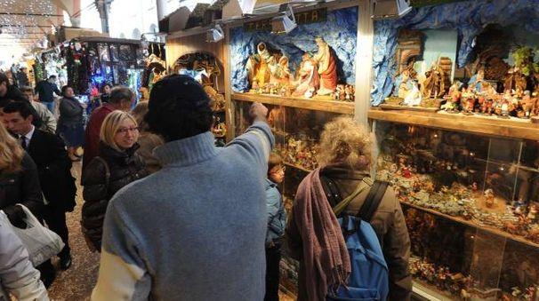 La tradizionale Fiera di Santa Lucia a Bologna (foto Schicchi)