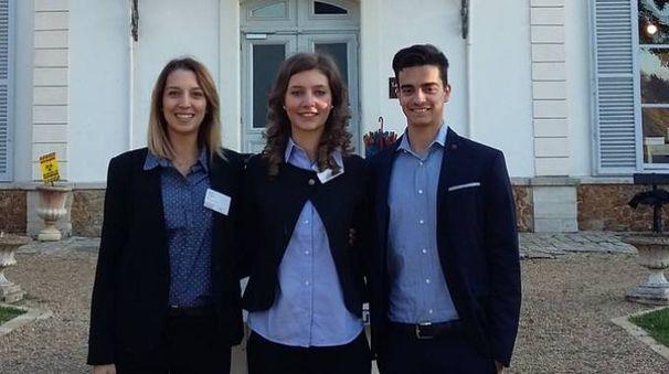 Chiara Andreotti, Marta Donno e Filippo Giusti