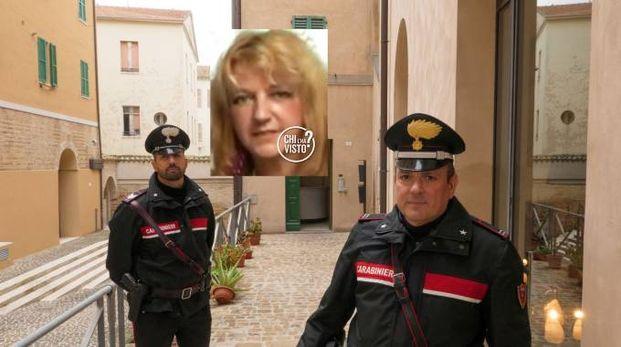 Il Ris ad Ancona, nel riquadro Renata Rapposelli (Emma)