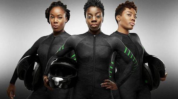 La squadra di bob femminile nigeriana