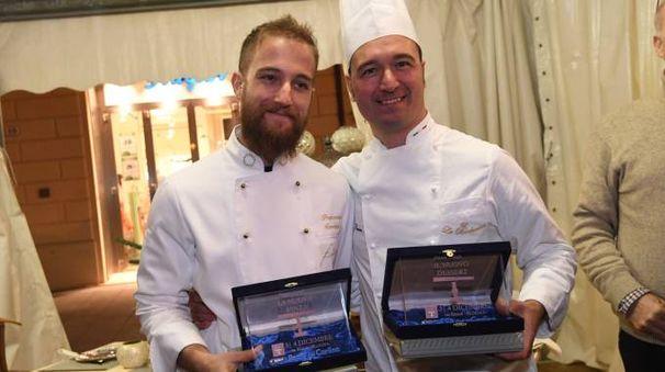 Francesco Sardisco di 'Fiordaliso' e Antonio Russo de 'La Borbonica', i vincitori della scorsa edizione (fotoSchicchi)