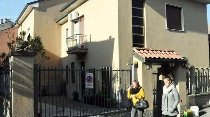 La villetta a Nova dei congiugi Palma, suoceri dei Del Zotto