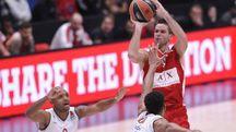 Mantas Kalnietis, con 10 punti consecutivi ha ribaltato la partita.