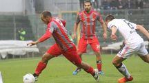 Piccolo in azione contro il Palermo (Lapresse)