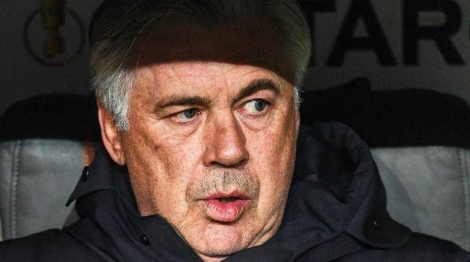 Carlo Ancelotti, ipotesi di un 'no ' alla Nazionale (foto Ansa)